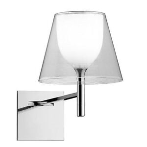 Silver Wall Sconce - FLOS KTribe W Wall Sconce