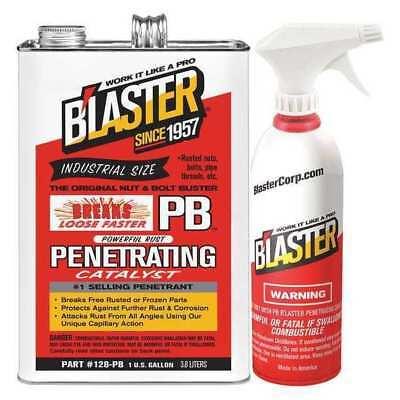 BLASTER 128-PB w/Sprayer 1 gal. Clear Penetrant Can