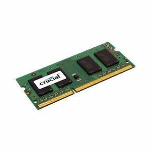 Crucial CT102464BF160B (8 GB, PC3-12800 (DDR3-1600), DDR3 SDRAM, 1600 MHz, SO D…
