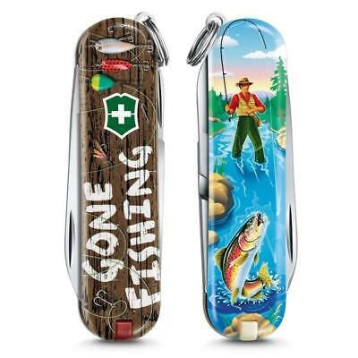 Gone Fishing Victorinox Swiss Army Knife 2020 Limited Edition World Sports