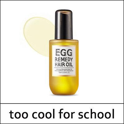 [Too Cool for School] Egg Remedy Hair Oil 100ml / Hair Cuticle / Sweet Korea /S2