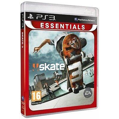 New Skate 3 PS3 Sony Playstation 3 Essentials EA UK PAL Skateboarding Game