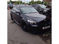 BMW 525d msport fully loaded ( swap )