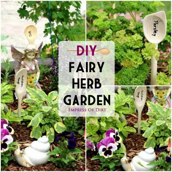 DIY Fairy Herb Garden