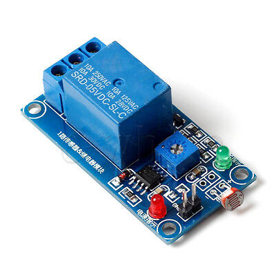 Photosensitive Sensitivity Light Switch Sensor Module 5v Relay For Arduino Tw