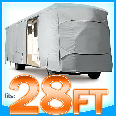 28' ft RV Cover Class A B C Motorhome Trailer Camper Storage Covers Protection