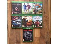 Xbox one games , £10 each ! Price stands , no offers ! will post if needed !