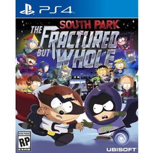 South Park Fractured But Whole PS4 game New Sealed Playstation 4