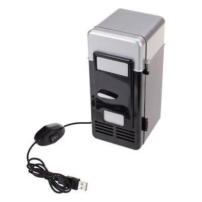 Mini PC USB Refrigerator Fridge Beverage Drink Tin Can Cooler Warmer