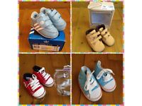 Set of baby shoes