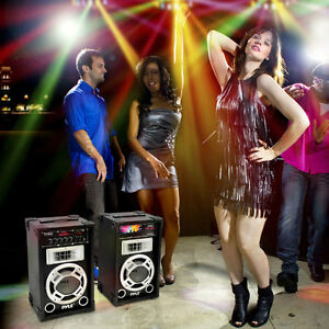 CRANK THE PARTY TO MAXIMUM WITH A PAIR OF THESE HOT BABIES -- 300 WATTS RMS !!!