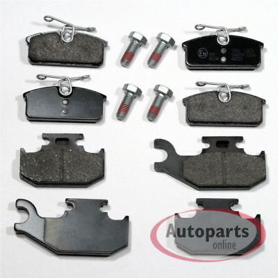 Renault Twizy - Bremsbeläge Bremsklötze Bremsen für vorne hinten