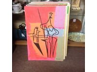 Art abstract art only £100ono each