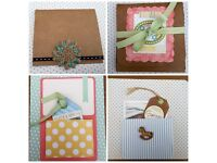 Lovely keepsake Handmade cards for any occasion