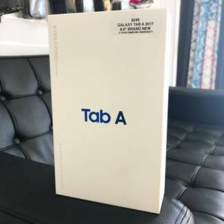 BRAND NEW SAMSUNG GALAXY TAB A 16GB CELL BLACK 2017 AU MODEL