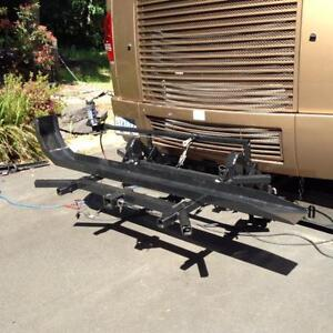 Overbilt Electric MotorCycle Lift for RV
