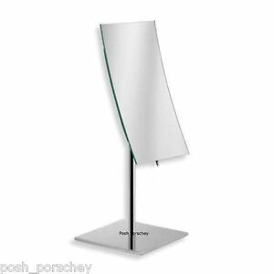free standing bathroom mirror large chrome magnifying free standing cosmetic 18423