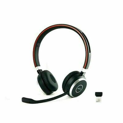 Jabra EVOLVE65MS Wireless Bluetooth Over the Ear Stereo Headset
