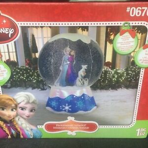 6foot inflatable frozen snowglobe