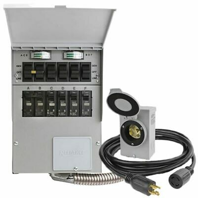 Reliance Controls Protran 2 - 30-amp Power Transfer Switch Kit For Portable ...