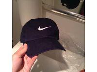 Nike swoosh cap navy brand new
