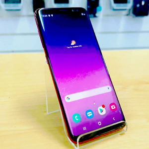 Galaxy S8 64G Red UNLOCKED INVOICE WARRANTY GREAT CONDITION