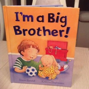 I'M A BIG BROTHER ! HARDCOVER BOOK