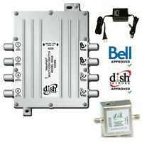 ► NEW Bell Expressvu Videopath Switch 44 SW44 + Inverter + Power