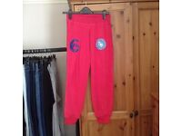 Superdry pink sweat pants XS