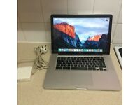 MacBook Pro ,500 Hdd ,6gb ram ,Intel dual core 2.4ghz ,with new spare battery (can deliver )