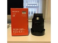 Sony FE 24-240mm lens - PERFECT condition