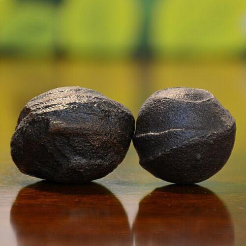 Beautiful Pair of Small Moqui Marbles (Shaman Stones) from Utah 83 grams