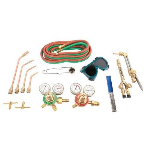 Forney 1707 Torch Kit, Medium Duty, Deluxe, Victor Type Oxygen Acetylene