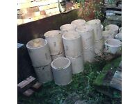 Chimney liners £2 a pot