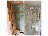 bathroom & kitchen fitting from A to Z. Flooring, Plumbing, tiling and Decorating.