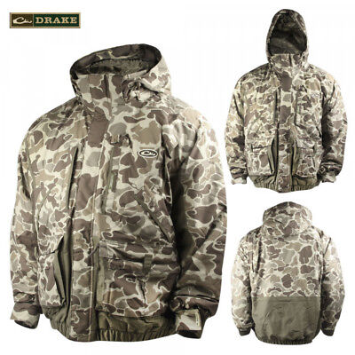 Drake LST Waterfowlers Coat Old School Timber Camo Size -