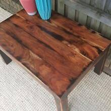 Coffee Side Table Solid Mango Wood Distressed Finish Coogee Eastern Suburbs Preview