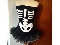 Halloween strapless short dress Medium