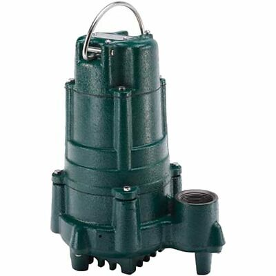 Zoeller N140 - 1 Hp Cast Iron Effluent Pump Non-automatic