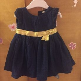 3 - 6 months party dress