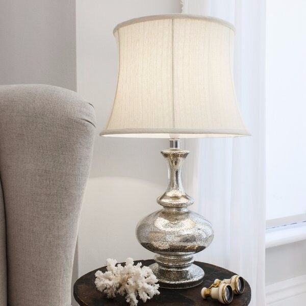 2 x Miranese Gold Table Lamp by Gallery Direct