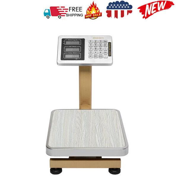 Leadzm Mini 80KG/176bs Wireless LCD Display Personal Floor Platform Scale USA