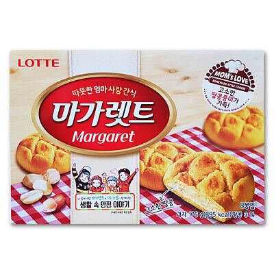 Korean Snack LOTTE MARGARET 176g Soft and Sweet Steady Selling