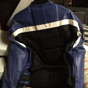 Motorcycle Jacket perforated leather with full take out liner London Ontario image 1