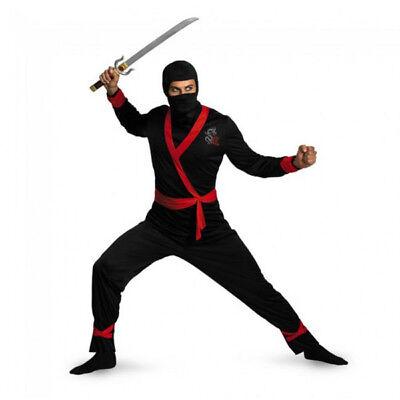 Men's Assassin Ninja Master Adult Costume | Disguise - Ninja Master Adult Kostüm