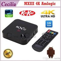 M X III 4k Android box