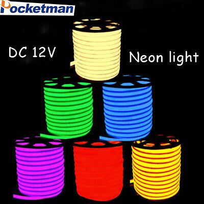 DC12V LED Flex Neon Rope Light Valentine Party Bar Garden DIY Sign Decor - Valentine Lights