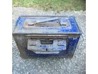 Old ammo tin