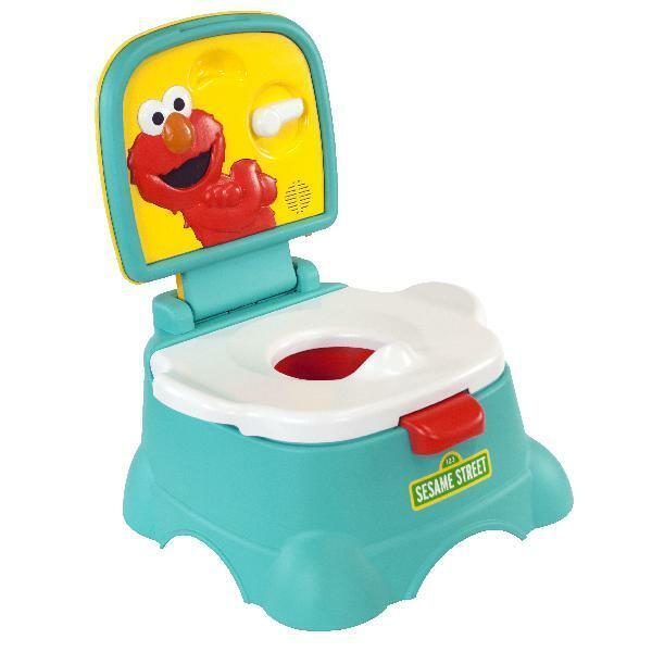 Sesame Street Elmo Hooray 3 In 1 Potty Chair Toilet Trainer