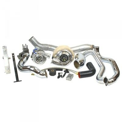 07.5-10 Chevy/GMC 6.6L DIESEL INDUSTRIAL INJECTION RACE COMPOUND TURBO KIT.